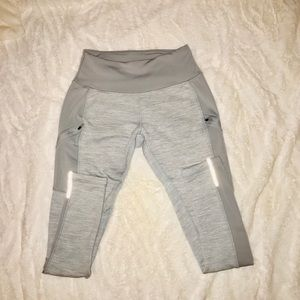 Fleece lined yoga pants/leggings